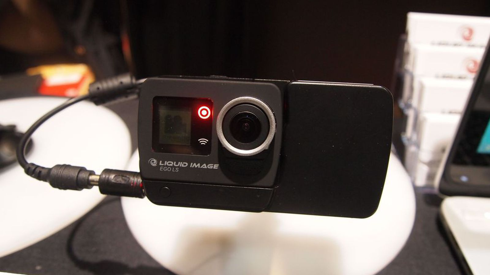 Liquid image debuts a wearable camera that streams over for Web tv camera