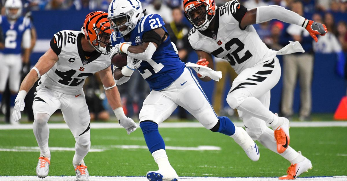 Is Nyheim Hines The Colts Swiss Army Knife Stampede Blue