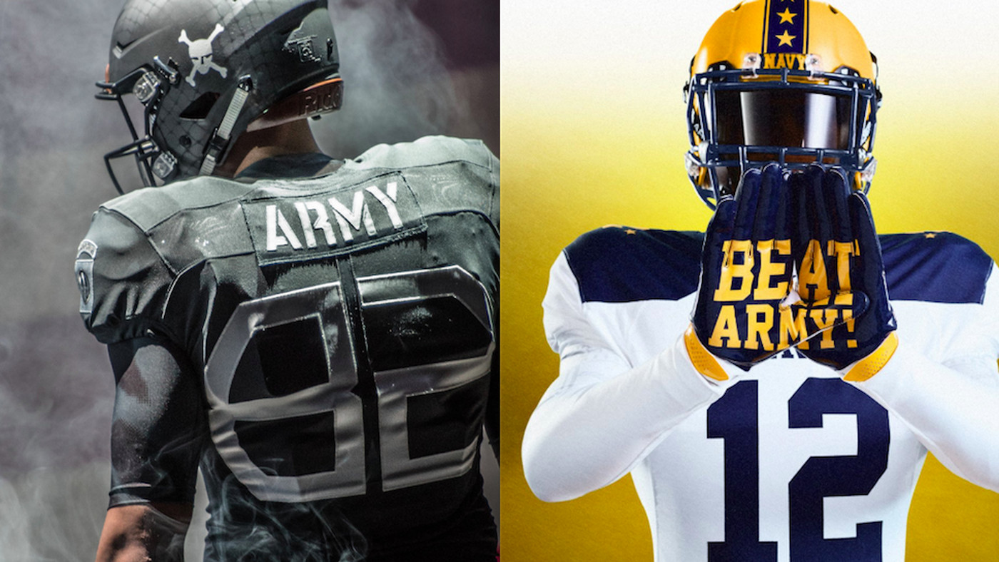 6e502ed2c92 Army-Navy has awesome new uniforms every year