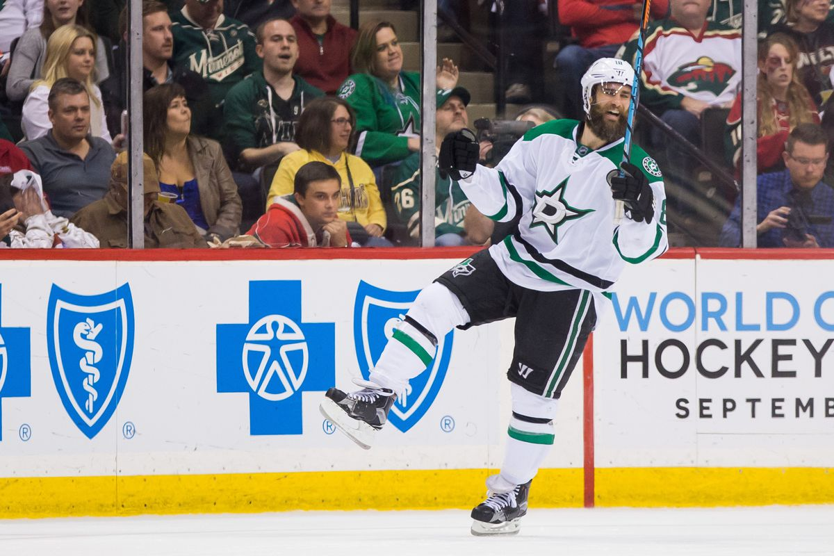 This is Patrick Eaves' happy dance.