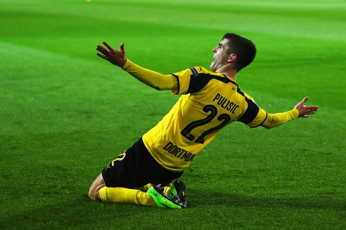 Pulisic, Dortmund Draw AS Monaco For Champions League