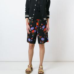 Italian brand No. 21 gives a tomboy cut a feminine feel with a sweet floral print.