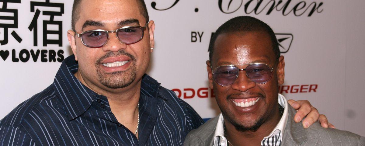 Heavy D and Andre Harrell