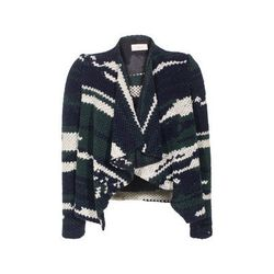 """<b>BA&SH</b>, <a href=""""http://www.my-wardrobe.com/ba-sh/multi-coloured-knited-cardigan-955342"""">$227</a>"""