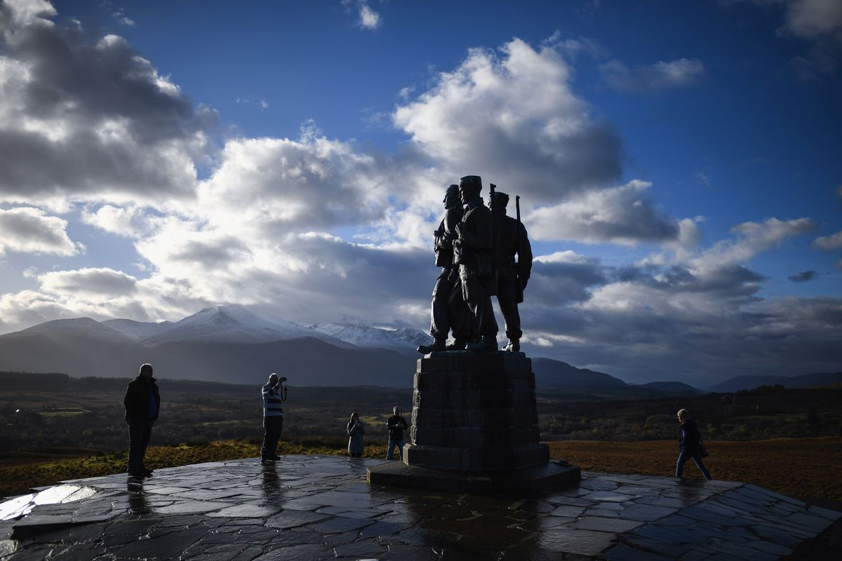 Nation Remembers War Dead On Armistice Day