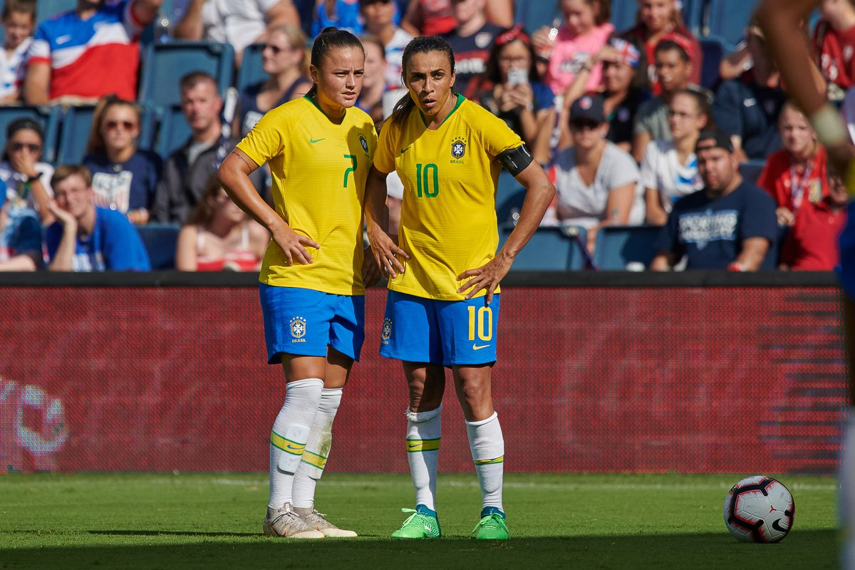 SOCCER: JUL 26 Tournament of Nations - Brazil v Australia