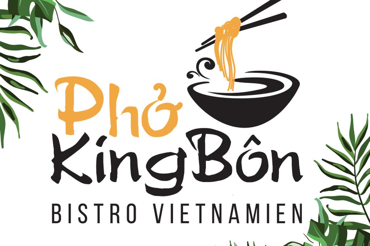 Graphic featuring restaurant name
