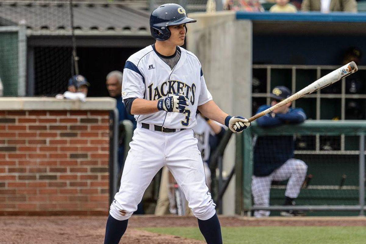 In reaching base in all three games this weekend, Hyde extended his ACC-leading streak to 30 games