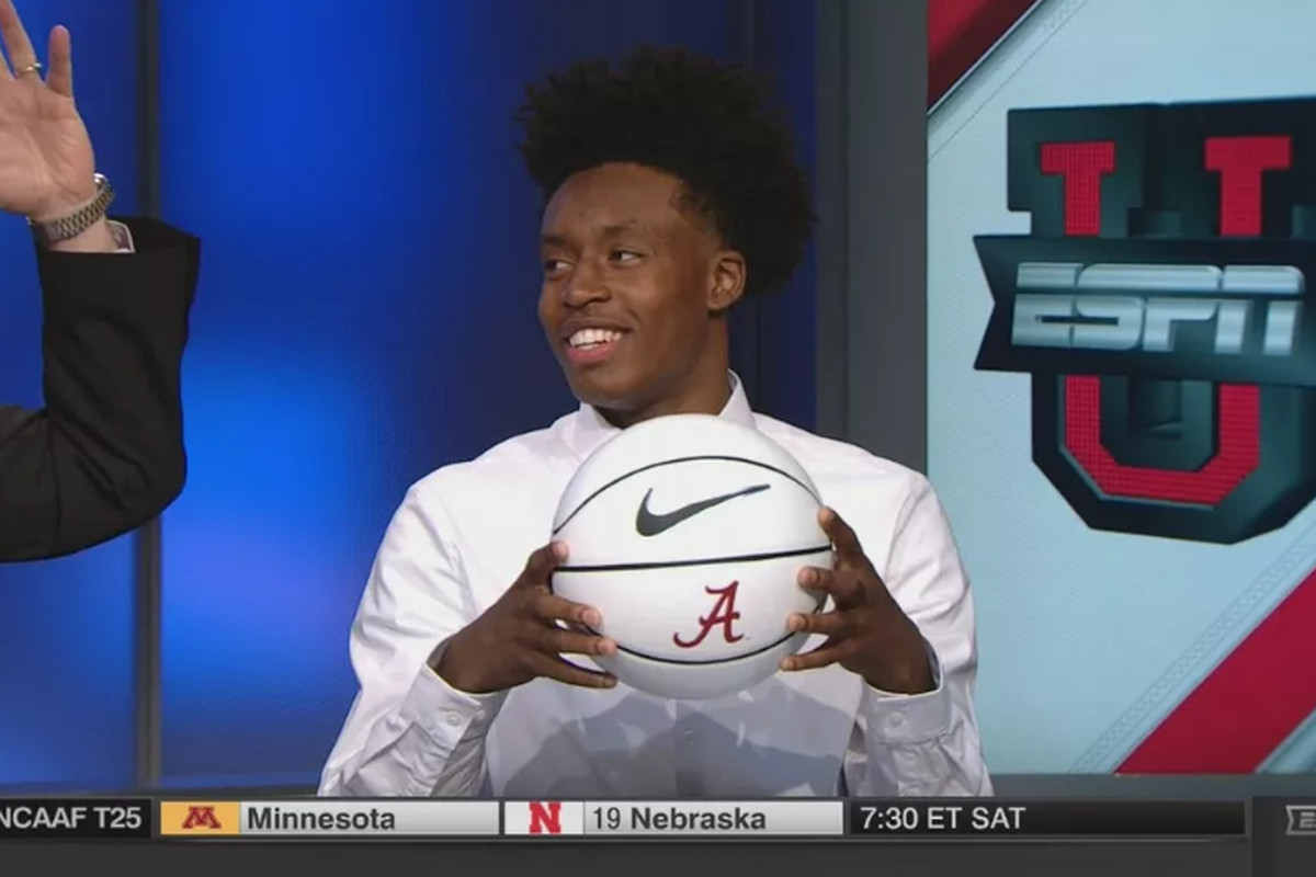 Collin Sexton Drops 35, Will Play Friday on ESPNU - Roll 'Bama Roll