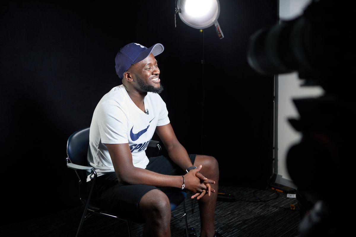 Tottenham Hotspur Unveil New Signing Tanguy Ndombele
