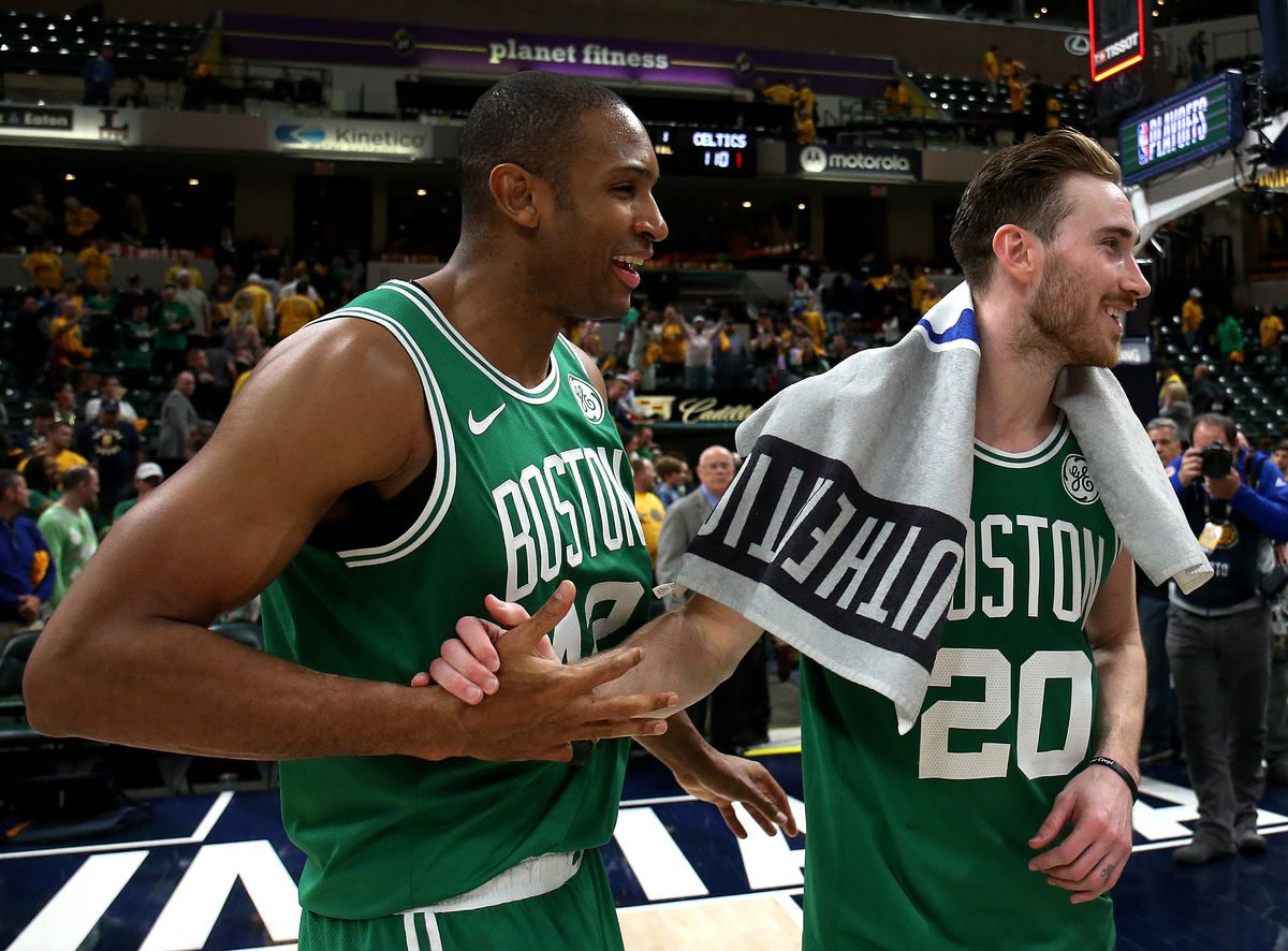 2019 NBA Playoffs: Boston Celtics Vs Indiana Pacers at Bankers Life Field House