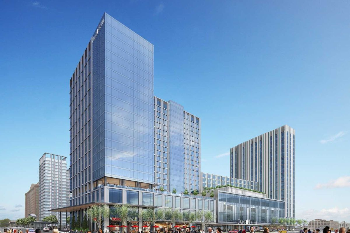 Hotels In Boston >> Omni Boston Seaport Hotel Officially Breaks Ground In The