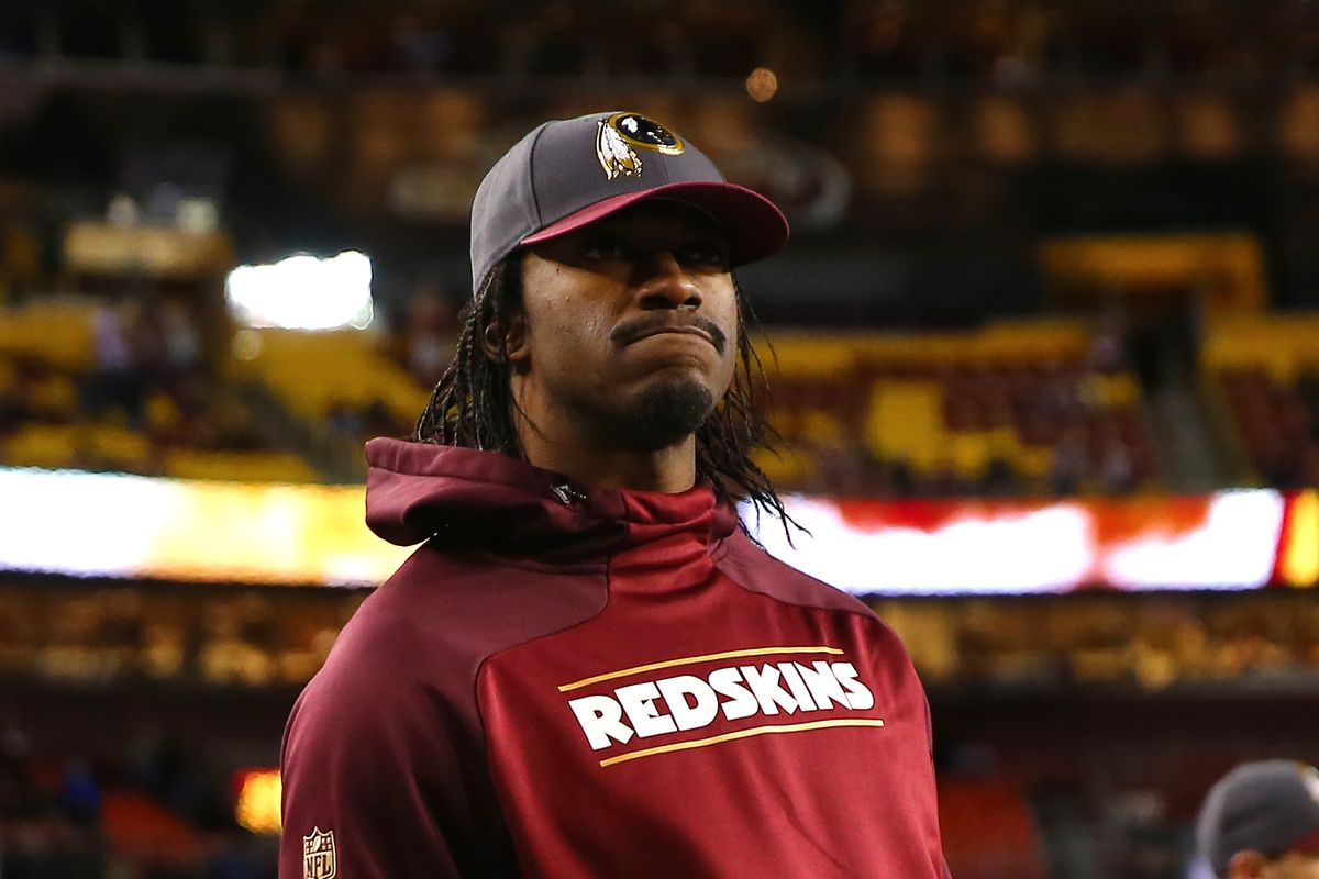 83f3bdd6 Rams only have 2 players left on the roster from blockbuster Robert Griffin  III trade