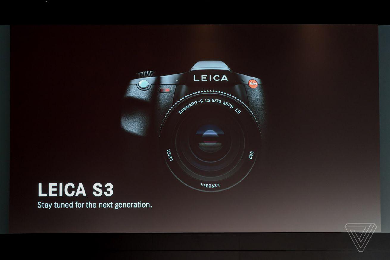 leica teases 64 megapixel s3 medium format camera for spring 2019