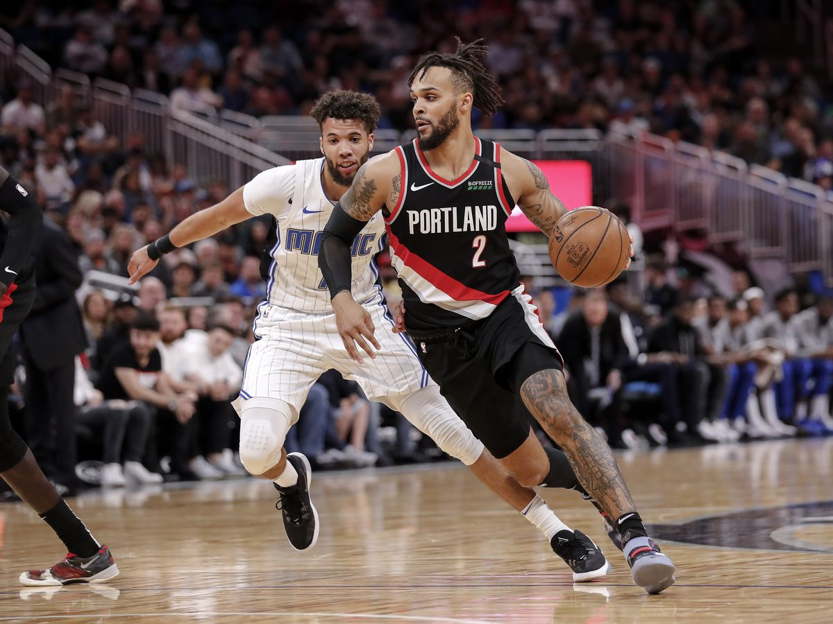 Portland Trail Blazers v Orlando Magic