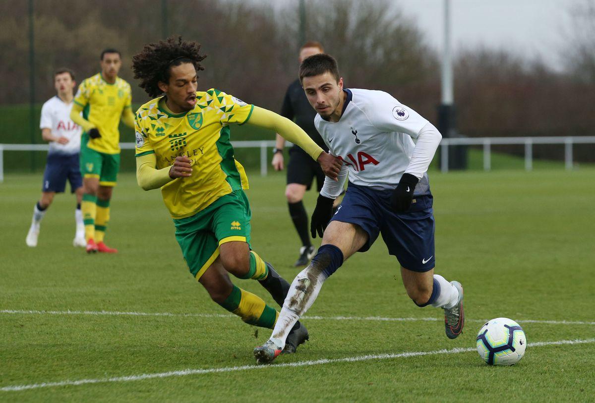 Norwich City v Tottenham Hotspur U23 - Premier League International Cup