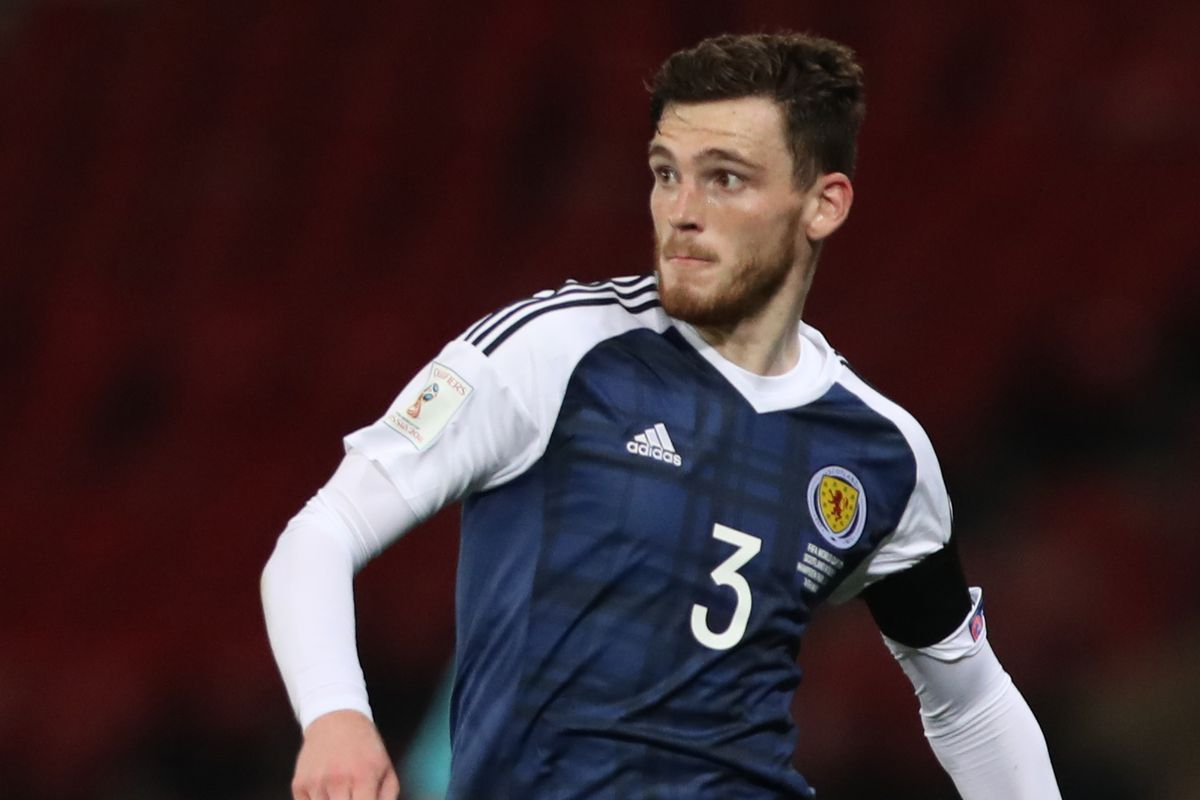 Former Dundee Untd man Andy Robertson signs for Liverpool FC