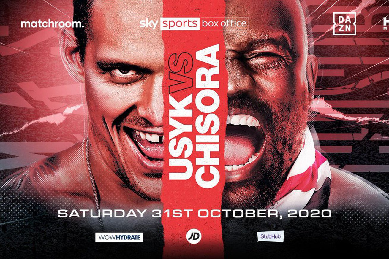 EimR9iUXcAEu7Z .0 - Usyk-Chisora official for Oct. 31