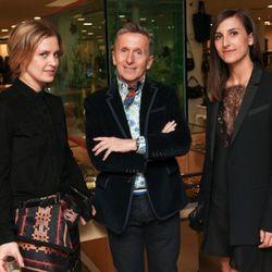 <i>Photo Credit: David X. Pruting/Billy Farrell Agency</i><br />Victoria Traina, Simon Doonan, Samantha Traina