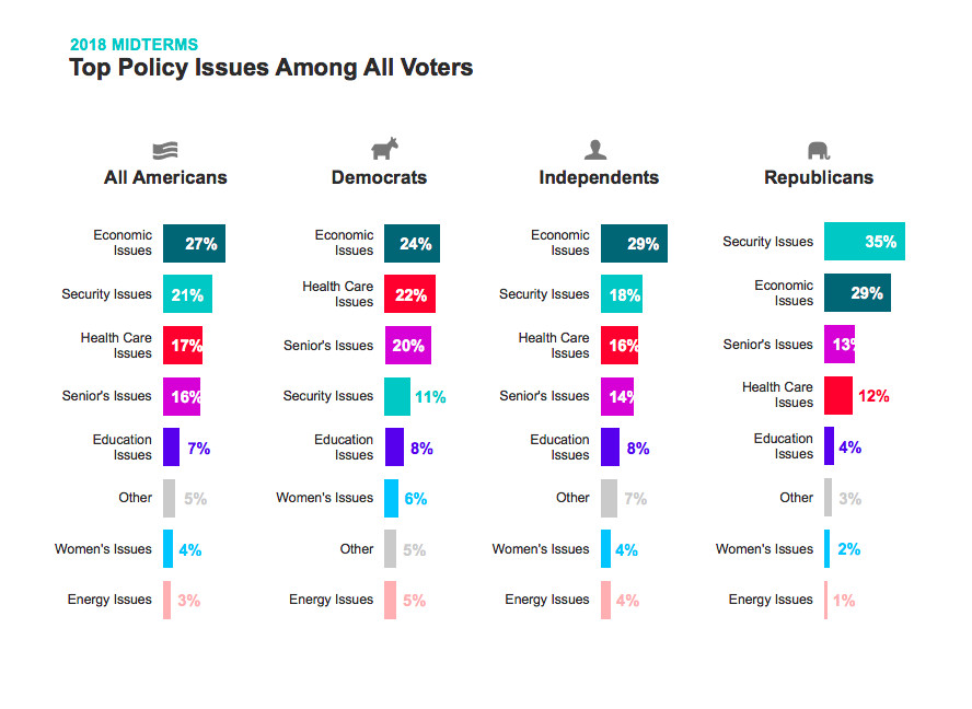 Top policy issues for voters