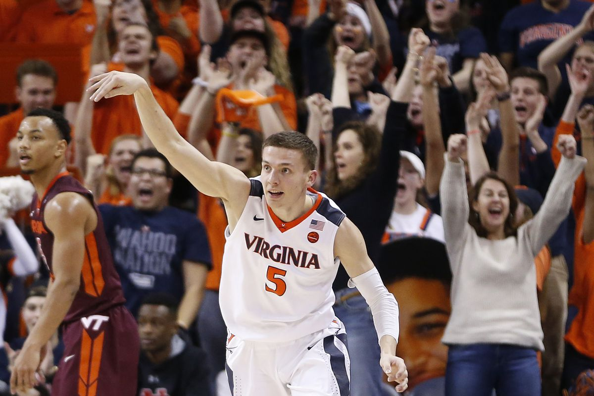 Ncaa Basketball Rankings 2018 Virginia No 1 For The First