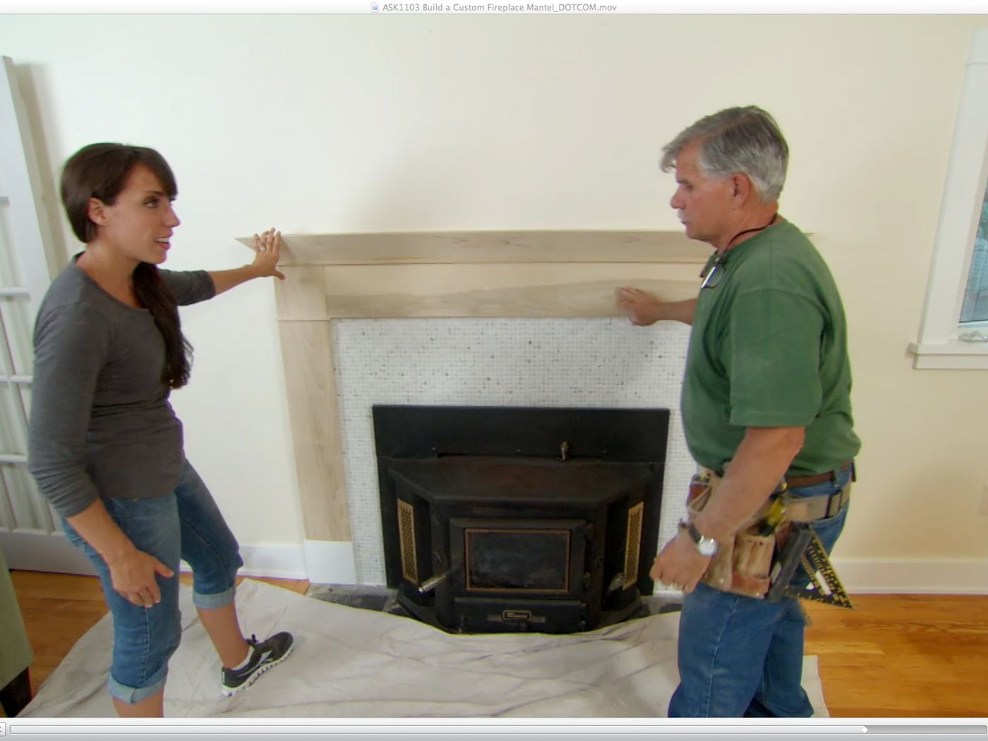 How To Build A Custom Fireplace Mantel This Old House