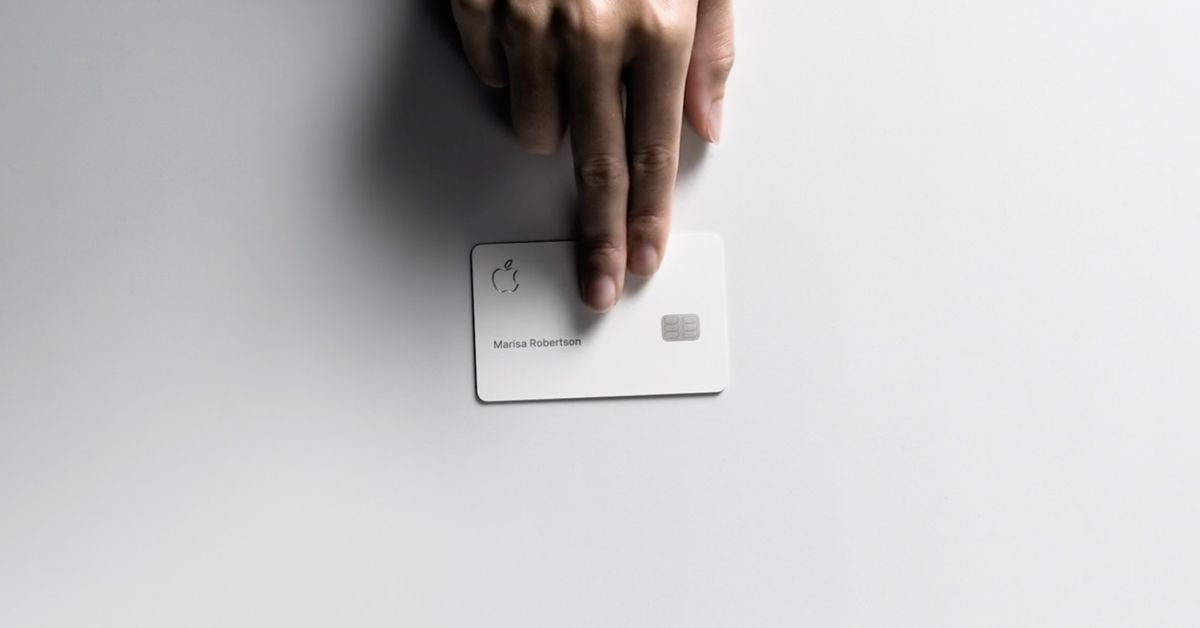 Apple announces Apple Card credit card