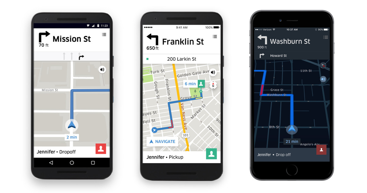Uber rebuilt its navigation app with drivers in mind - The Verge