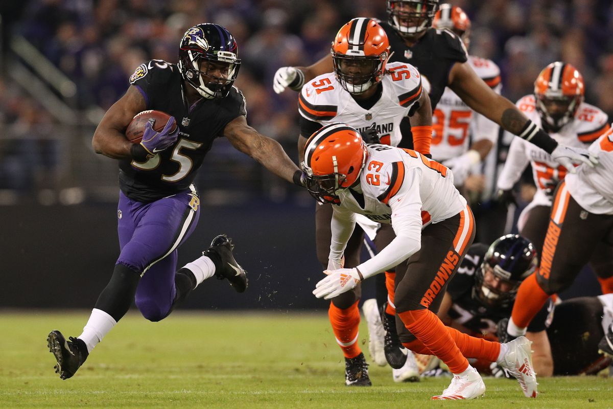 Browns Vs Ravens Final Score Cleveland Loses A Nail Biter At The End 26 24 Dawgs By Nature