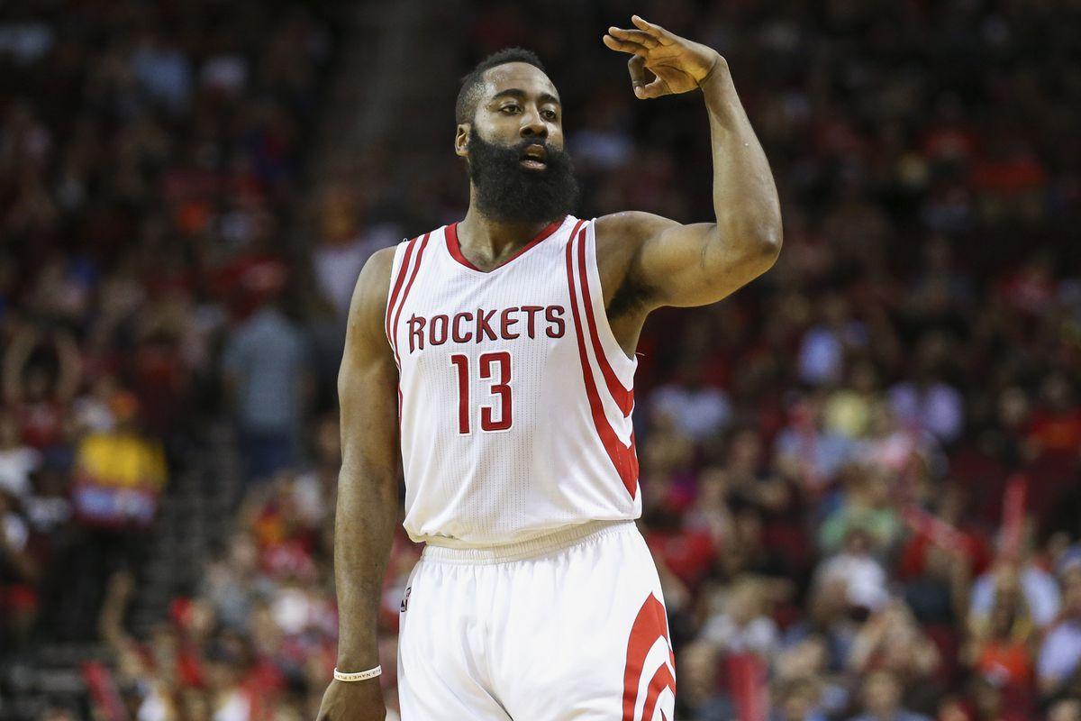 James Harden, despite the Rockets around him, is ...