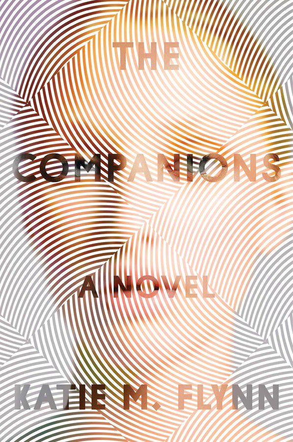 The Companions book cover, a woman with lines on her face