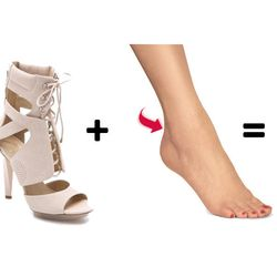 <b>The Back-of-the-Heel</b>: Not to be confused with the back-of-ankle blister previously mentioned, the back of ankle blister is for that tiny nick above the heel and below the leg. It's practically impossible to find a Band Aid that will stay on in that