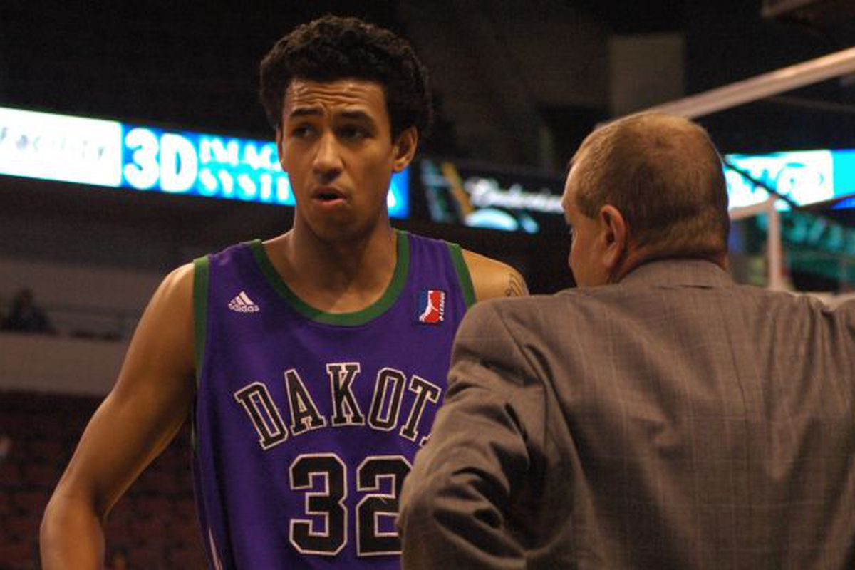 Romel Beck and the Wizards take on the unbeated Idaho Stampede tonight.
