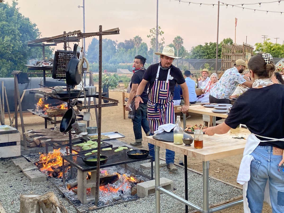 All grilled everything at San Juan Capistrano's Hearth dinners.