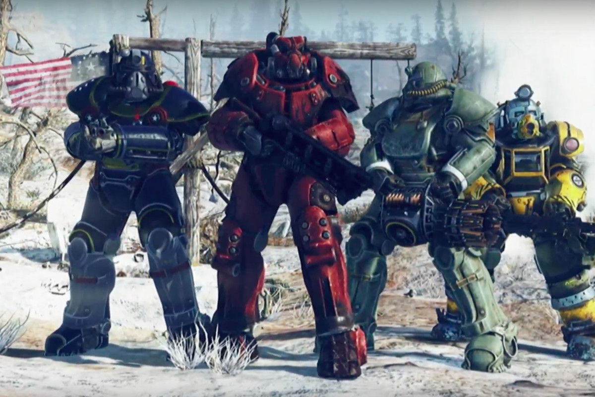 Fallout 76's multiplayer will let you nuke other people's