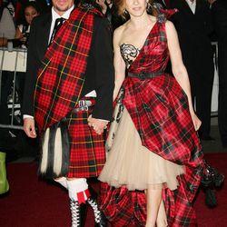 Sarah Jessica Parker in Alexander McQueen in 2006.