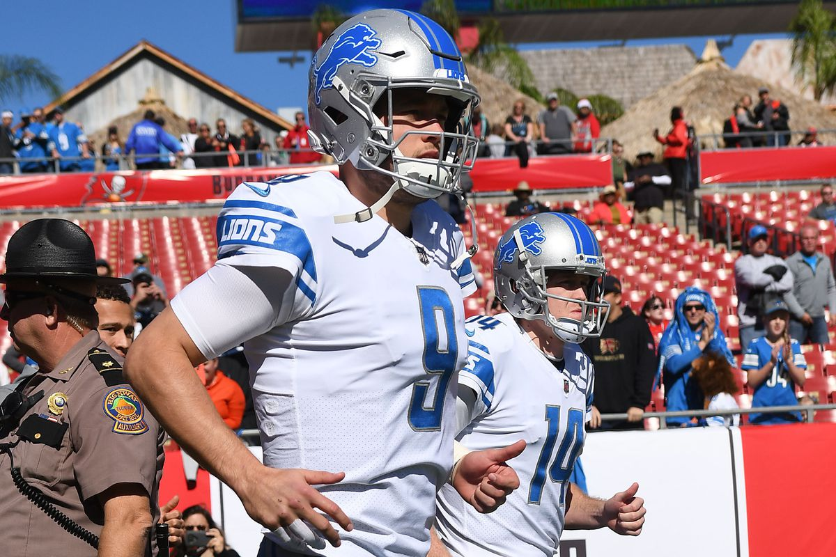 NFL: Detroit Lions at Tampa Bay Buccaneers