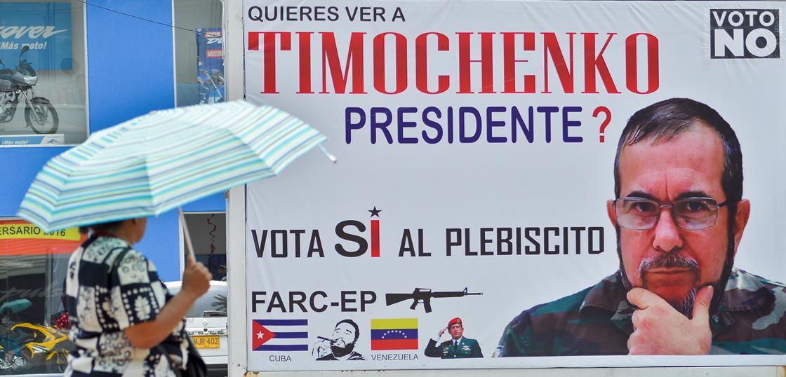 Pro-Timochenko sign