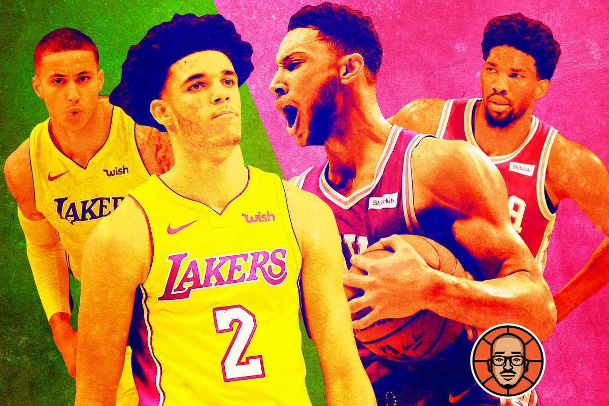 NBShea: Who's More Exciting, the Young Lakers or the Young Sixers?