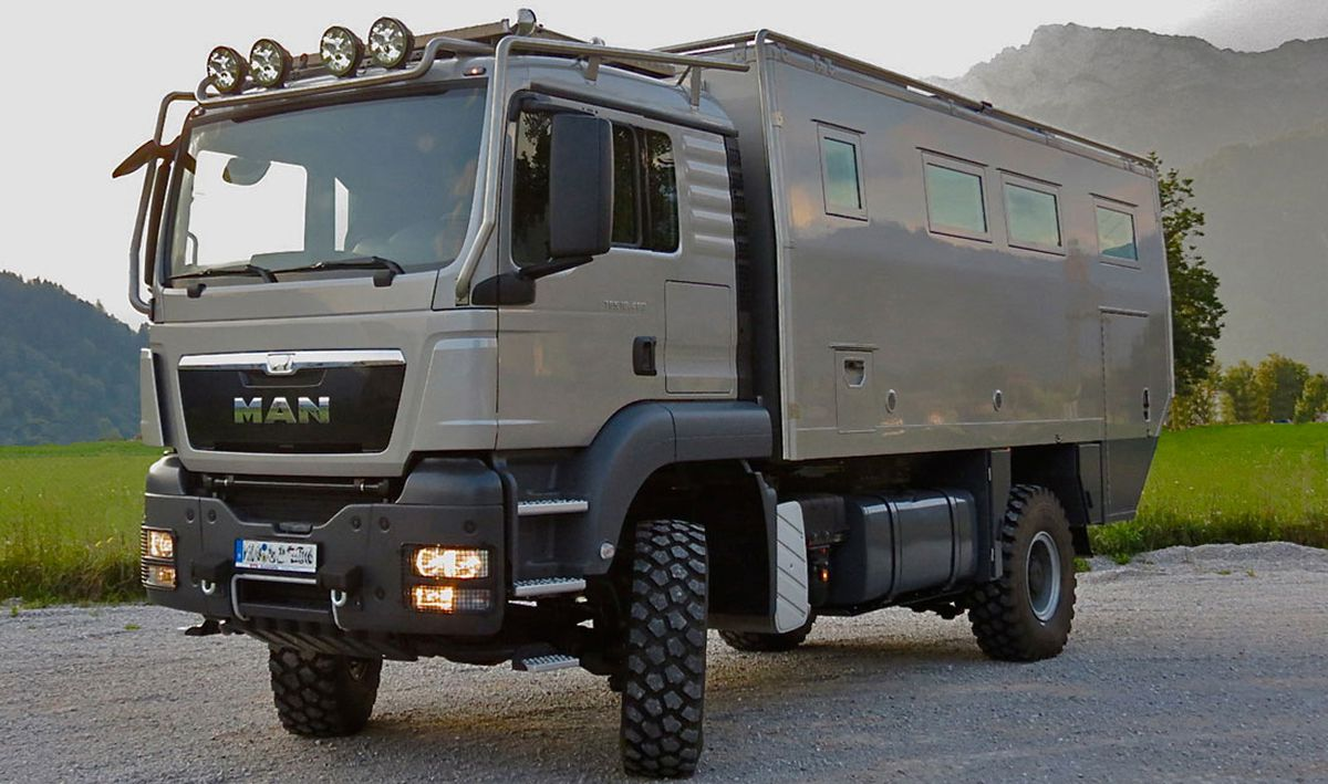 Burly Off Road Camper Still Boasts High End Amenities Curbed