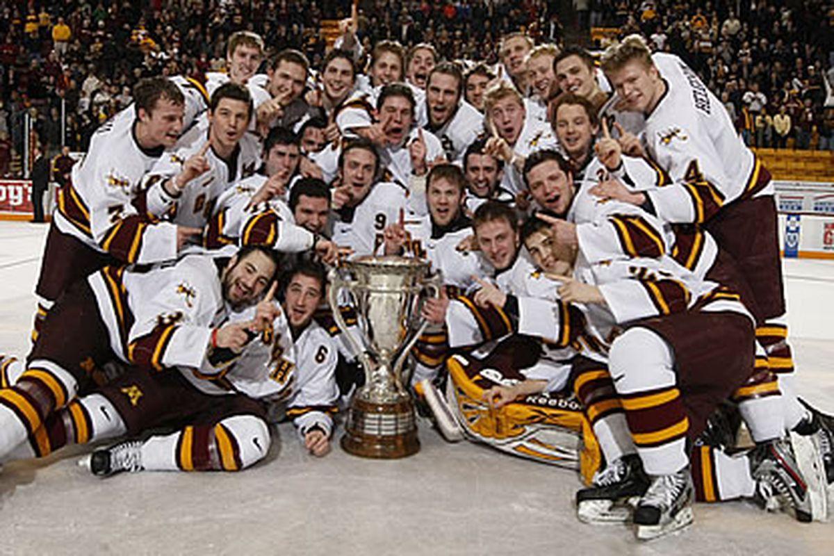 This was Minnesota winning the MacNaughton last year- they did the same tonight in Bemidji.