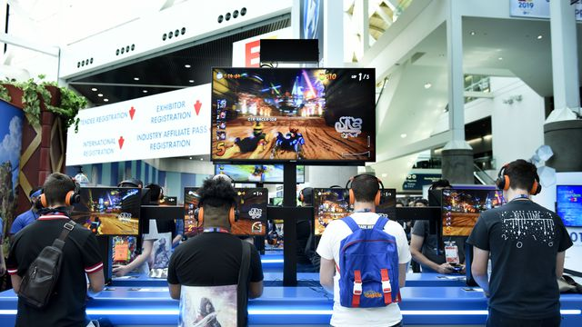 E3 - The World's Premier Event for Video Games – South Hall - Day 3