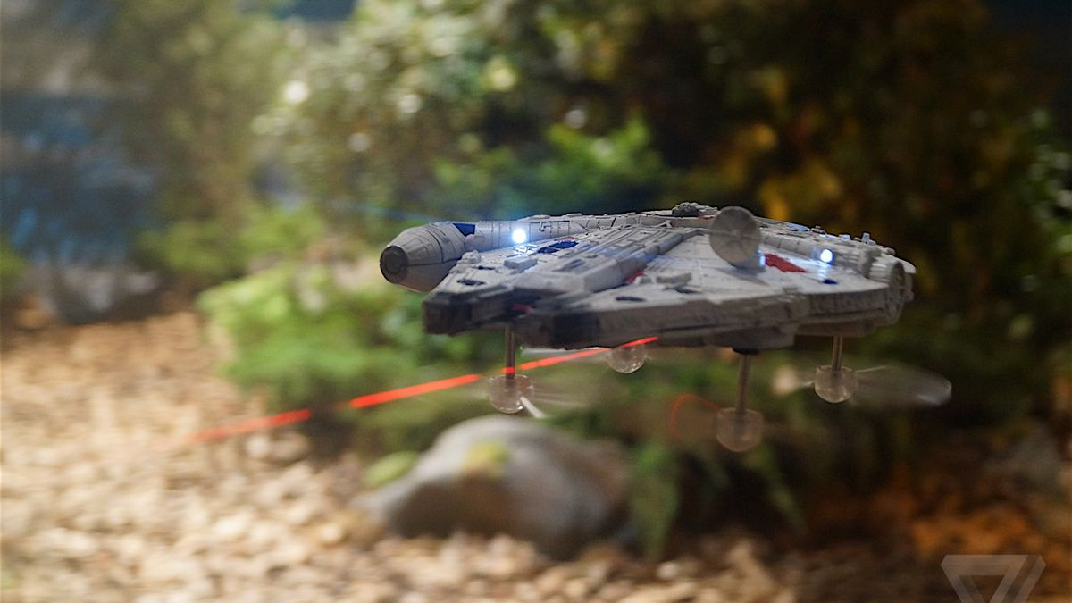 These Amazing Star Wars Drones Let You Battle With The Millennium Falcon Verge