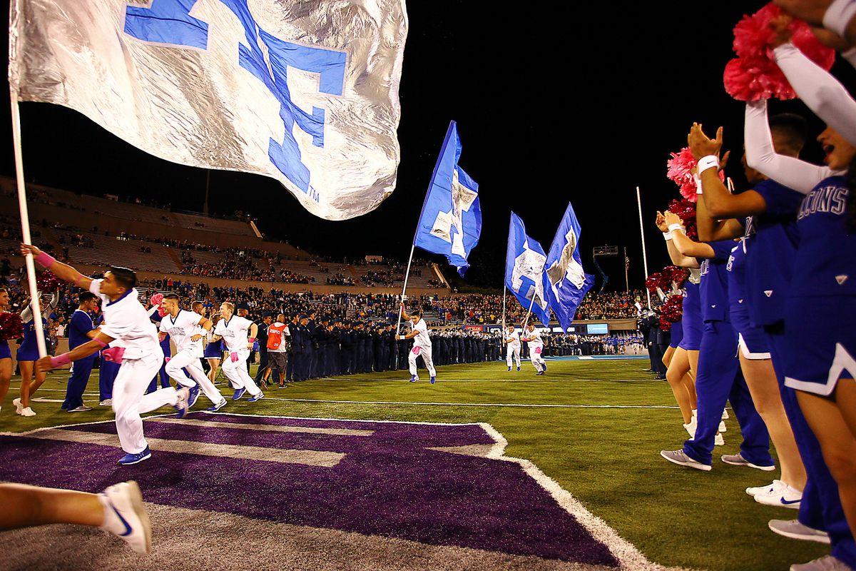 NCAA FOOTBALL: OCT 10 Wyoming at Air Force