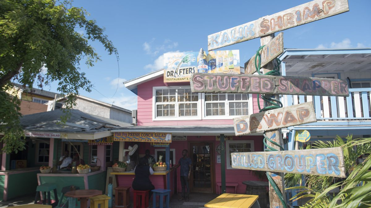 The bahamas fish fry is the ultimate caribbean feast eater for Fish fry bahamas