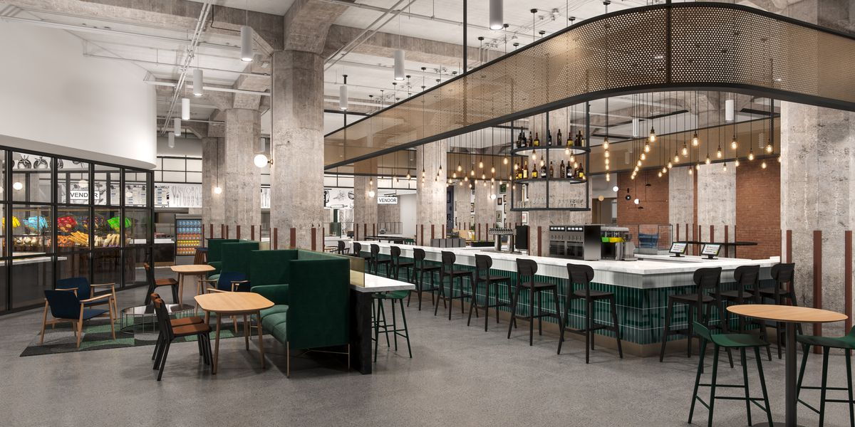 The 111-Year-Old Montgomery Ward Building to House New Daytime Dining and Bar Venue