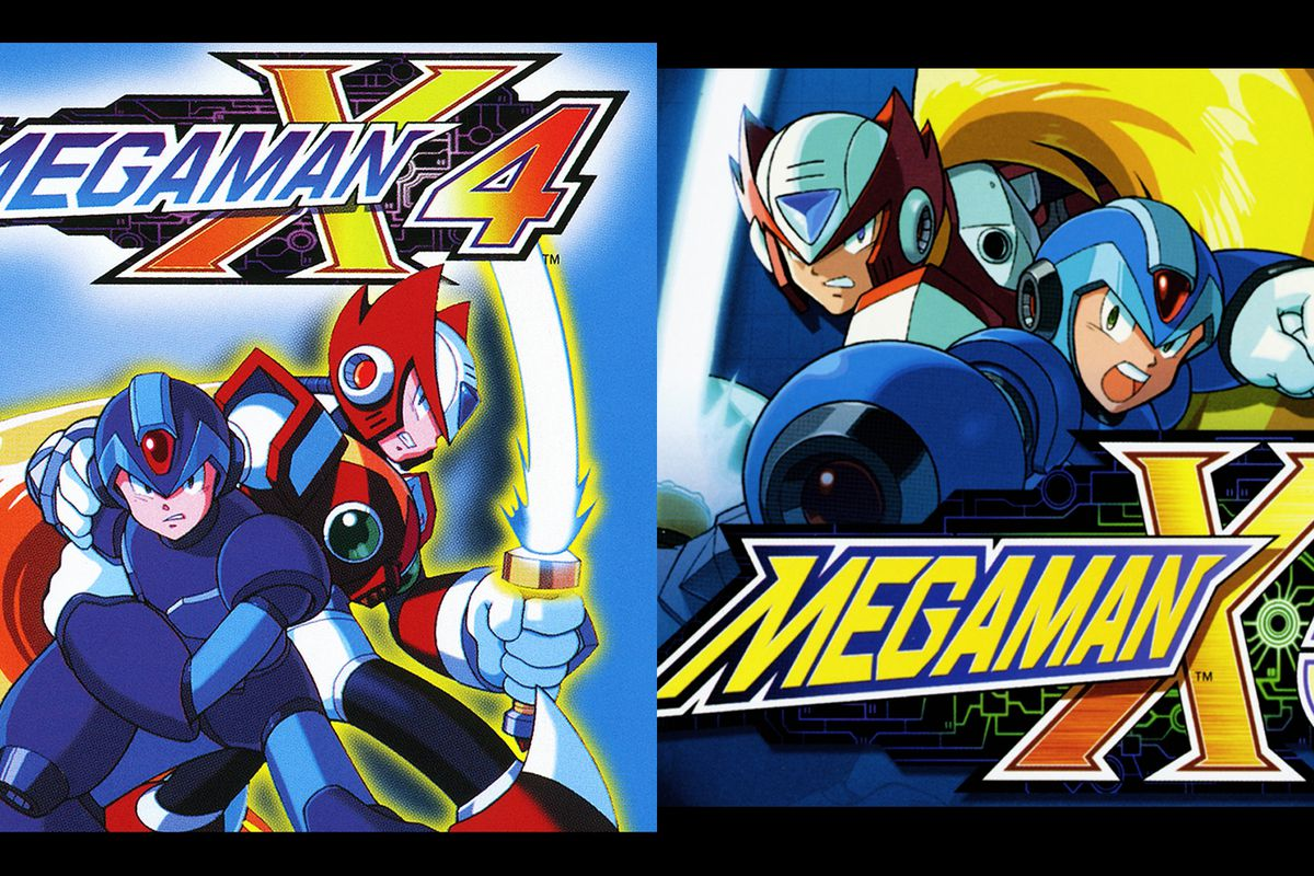 Mega Man X4, X5 coming to PlayStation Store as PSOne