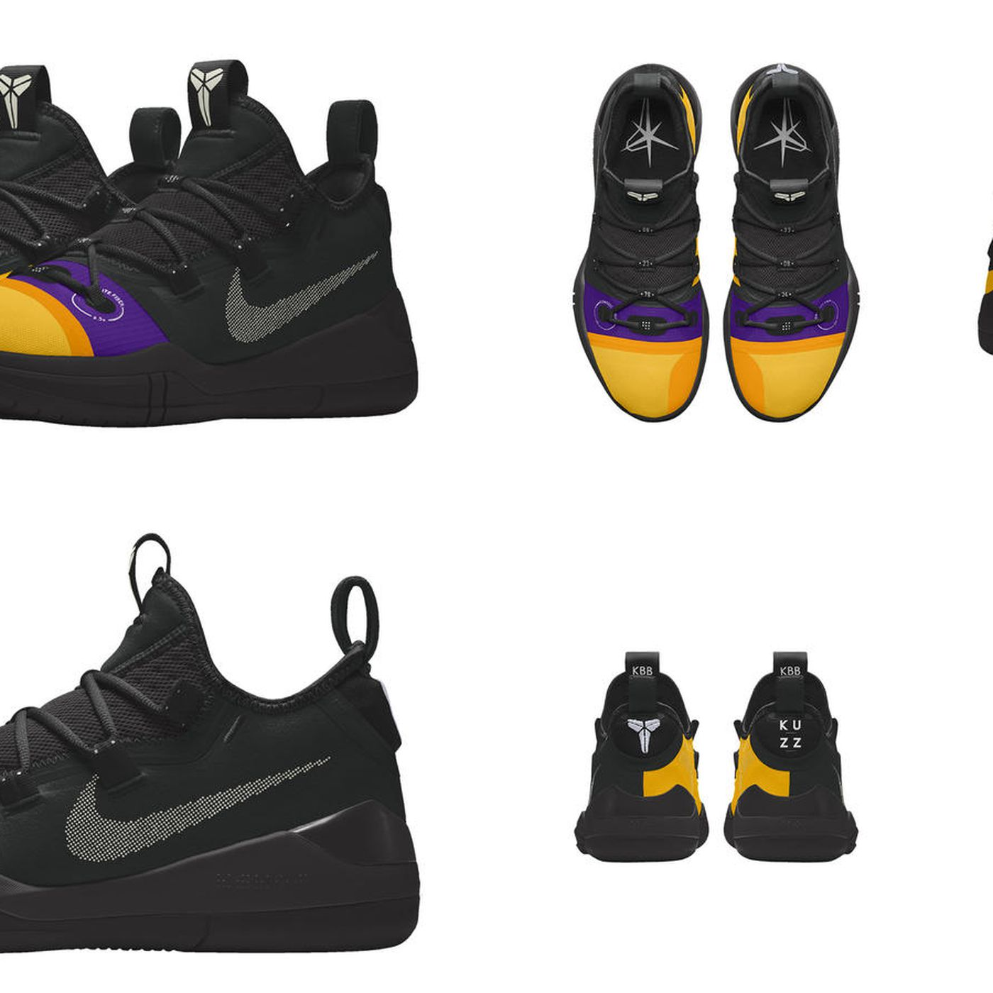 lowest price f06eb ee9b2 Lakers News  Kyle Kuzma to wear customized Nike Kobe AD for NBA opening  week - Silver Screen and Roll