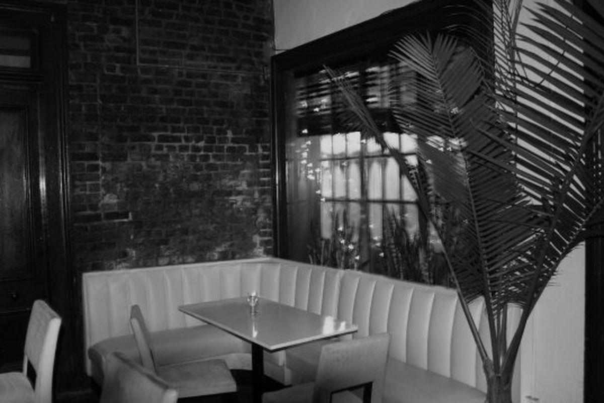 The interior of Bar Tonique.