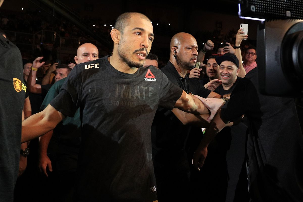 Jose Aldo willing to fight Henry Cejudo at bantamweight: 'His fighting style pleases me'